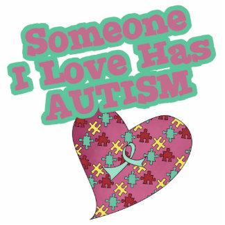 Someone I Love Has Autism Photo Sculpture