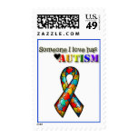 Someone I Love Has Autism Postage Stamps