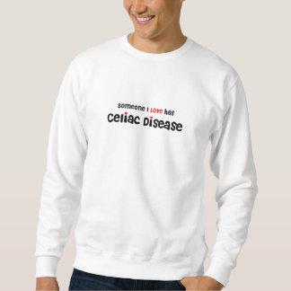 someone I love has Celiac Disease / hearts Sweatshirt