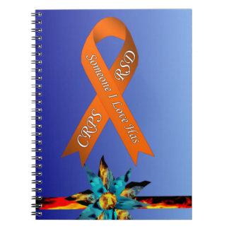 Someone I Love Has CRPS RSD Lava Bloom Notebook