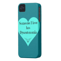 Someone I love has Dysautonomia iPhone 4 Case-Mate Case