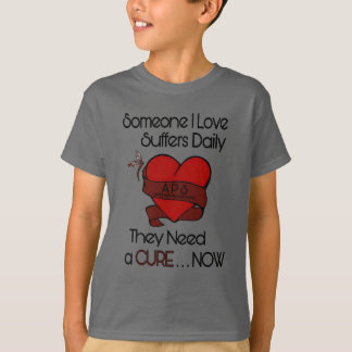 Someone I Love...Heart/Ribbon...APS T-Shirt
