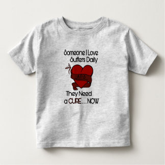 Someone I Love...Heart/Ribbon...APS Toddler T-shirt