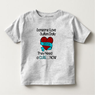 Someone I Love...Heart/Ribbon...P.O.T.S. Toddler T-shirt