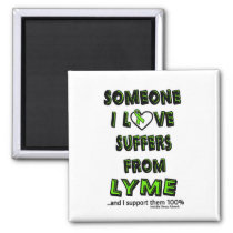 Someone I Love...Lyme Magnet