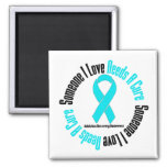 Someone I Love Needs A Cure Addiction Recovery Fridge Magnet