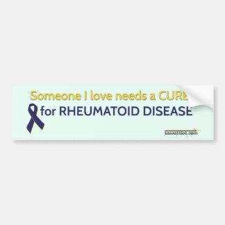 Someone I love needs a cure Bumper Sticker