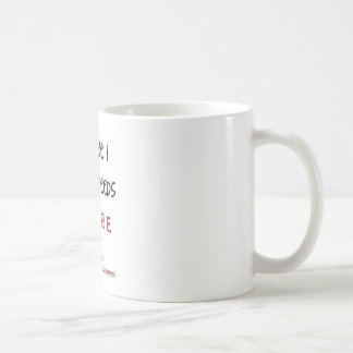 someone i love needs a cure coffee mug