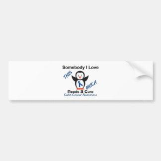 Someone I Love Needs A Cure Colon Cancer Bumper Sticker