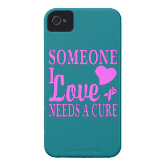 Someone I Love Needs A Cure For Cancer iPhone 4 Cover
