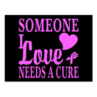 Someone I Love Needs A Cure For Cancer Postcard