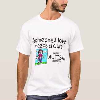 Someone I love Needs A Cure (Girl Crying) T-Shirt