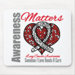 Someone I Love Needs A Cure - Lung Cancer Mouse Pad