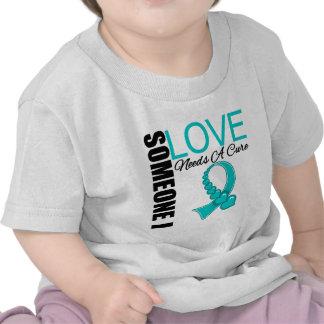 Someone I Love Needs a Cure Tourette Syndrome Tshirt