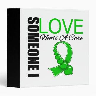 Someone I Love Needs A Cure Traumatic Brain Injury Vinyl Binder