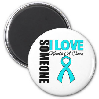 Someone I Love Needs A Cure v2 Addiction Recovery 2 Inch Round Magnet
