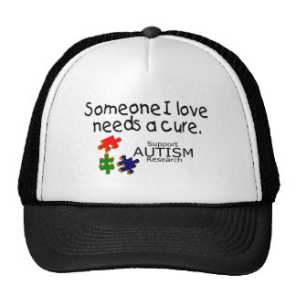 Someone I Love (Puzzle Pieces) Trucker Hat