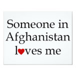 Someone in Afghanistan Loves Me Invite