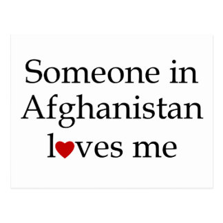 Someone in Afghanistan Loves Me Postcards