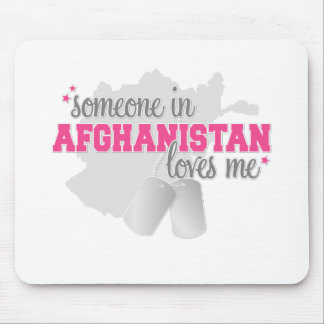 Someone in Afghanistan Mouse Pad