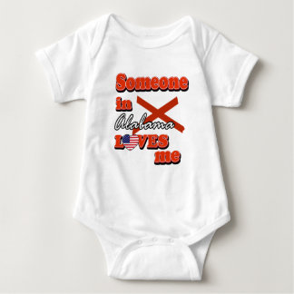 Someone in Alabama loves me Baby Bodysuit