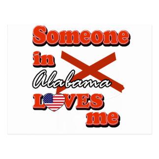 Someone in Alabama loves me Postcard