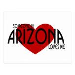 Someone in Arizona Loves Me! Postcard