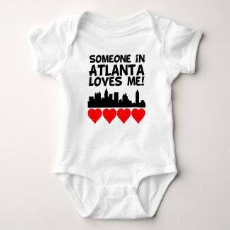 Someone In Atlanta Georgia Loves Me Baby Bodysuit