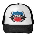 Someone In California Loves Me Mesh Hat