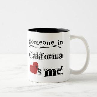 Someone In California Loves Me Coffee Mug