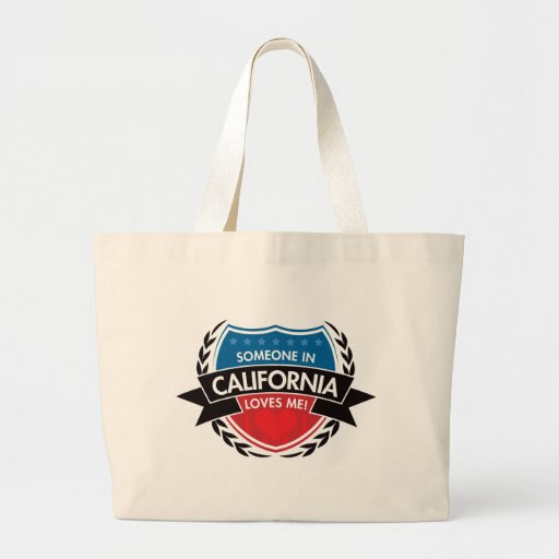 Someone In California Loves Me Tote Bags