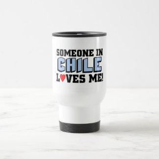 Someone in Chile Loves me Travel Mug