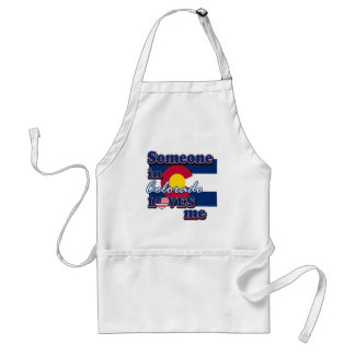 Someone in Colorado loves me Adult Apron