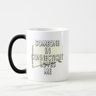 Someone in Connecticut loves me Magic Mug