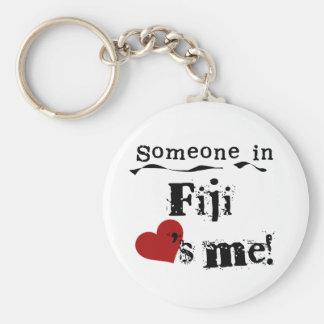 Someone In Fiji Loves Me Keychain