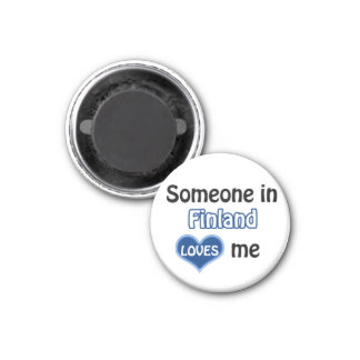 Someone in Finland loves me Magnet