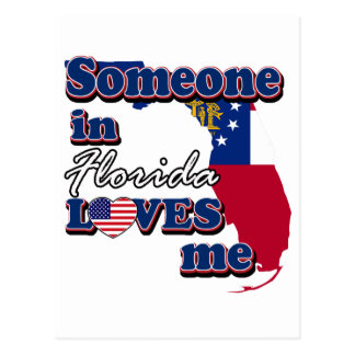 Someone in Florida loves me Postcard