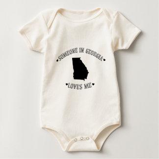 Someone in Georgia Loves Me Baby Bodysuit