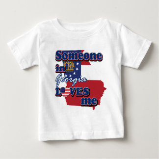 Someone in Georgia loves me Baby T-Shirt
