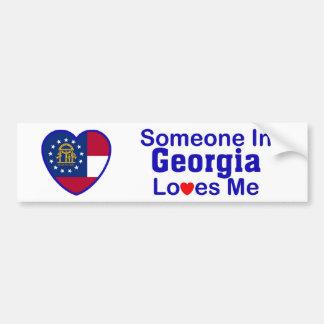Someone In Georgia Loves Me Bumper Sticker