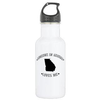 Someone in Georgia Loves Me Water Bottle