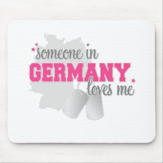 Someone in Germany Mouse Pad