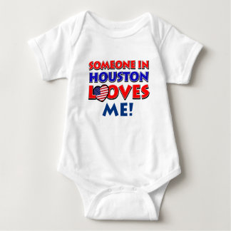 Someone in HOUSTON loves me Baby Bodysuit