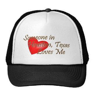 Someone in Houston Loves Me Mesh Hat