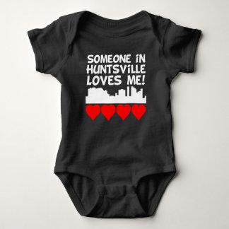Someone In Huntsville Alabama Loves Me Baby Bodysuit