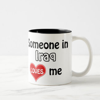 Someone in Iraq loves me