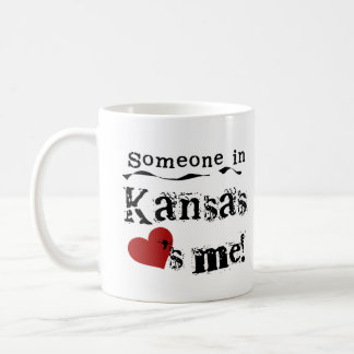 Someone In Kansas Loves Me Coffee Mug
