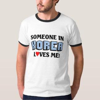 Someone in Korea Loves me T-Shirt