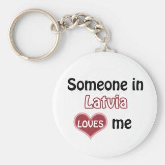 Someone in Latvia Loves me