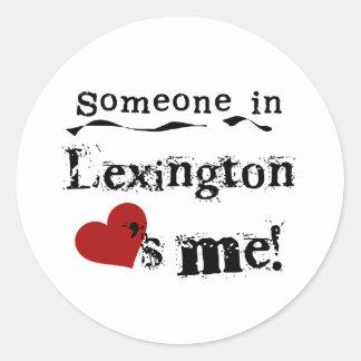 Someone in Lexington Stickers